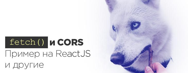 Fetch и CORS  Пример на ReactJS и другие | Xakplant ru
