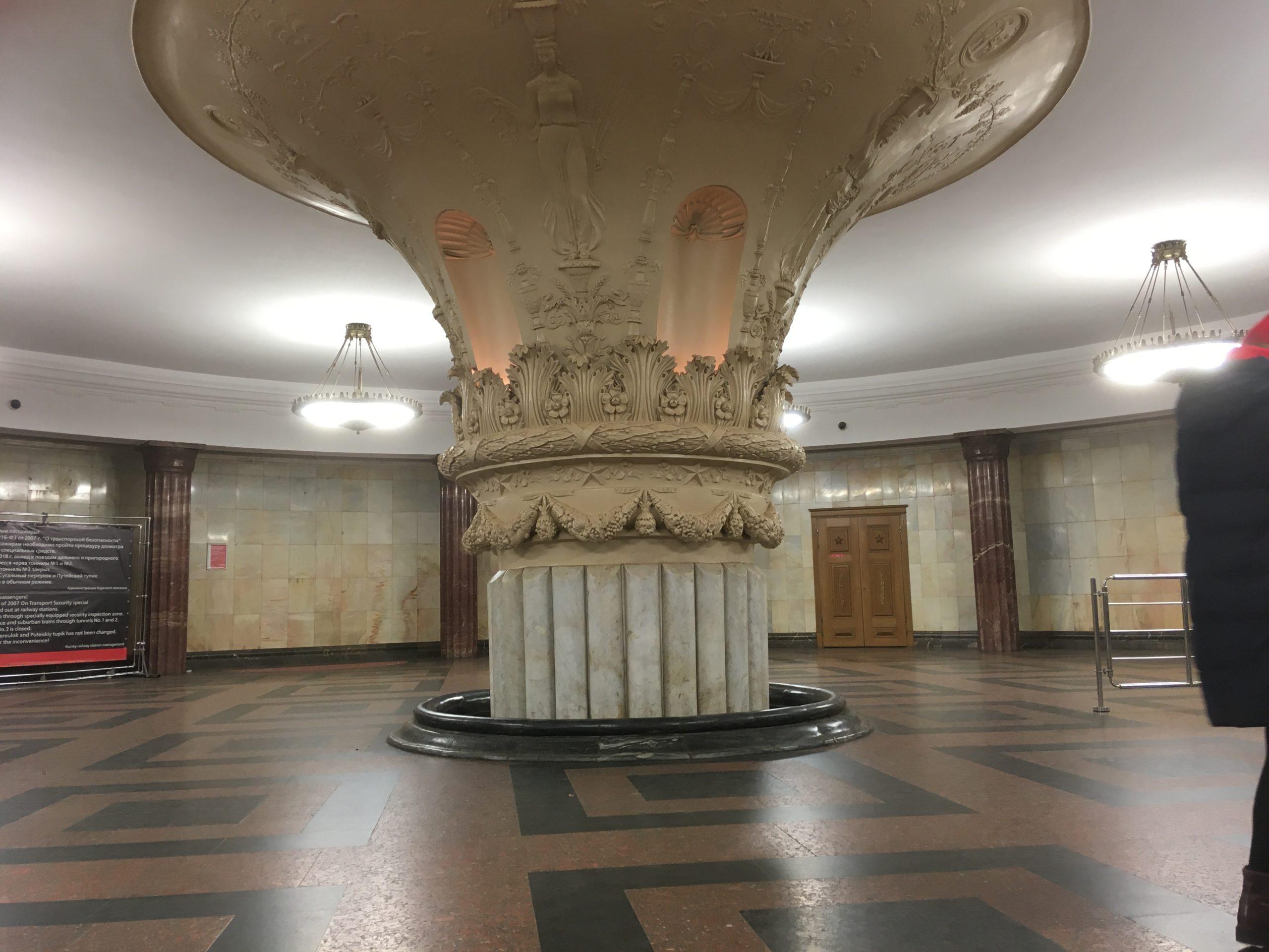 Фото метро Третьяковская холл